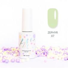 HIT gel Гель-лак №07 Zephir, 9 мл