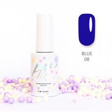 HIT gel Гель-лак №08 Blue, 9 мл