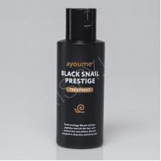 Маска для волос  AYOUME с муцином улитки BLACK SNAIL PRESTIGE TREATMENT 100мл