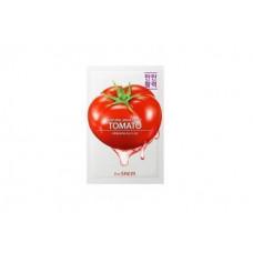 АКЦИЯ-Маска тканевая для лицаThe Saem ТОМАТ Natural Tomato Mask Sheet