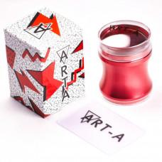Штамп Art-A красный 3,9 см + скрапер