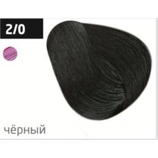 OLLIN  2/0 черный 60мл