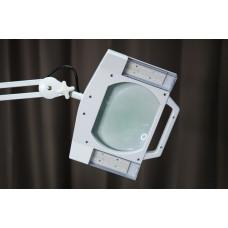 Лампа-лупа LED К-4  квадрат (Напольная)