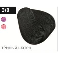 OLLIN  3/0 темный шатен 60мл