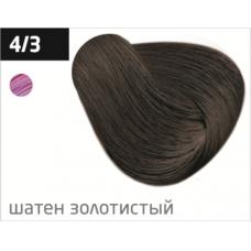 OLLIN  4/3 шатен золотистый 60мл