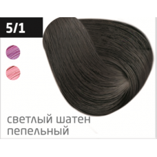 OLLIN  5/1 светлый шатен пепельный 60мл