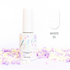 HIT gel Гель-лак №01 White, 9 мл