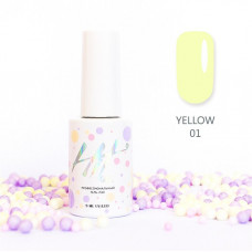 HIT gel Гель-лак №01 Yellow, 9 мл