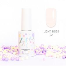HIT gel Гель-лак №02 Light Beige, 9 мл