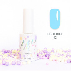 HIT gel Гель-лак №02 Light Blue, 9 мл