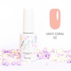HIT gel Гель-лак №02 Light Coral, 9 мл