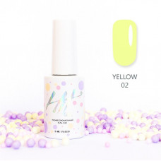 HIT gel Гель-лак №02 Yellow, 9 мл