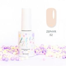 HIT gel Гель-лак №02 Zephir, 9 мл