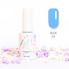 HIT gel Гель-лак №03 Blue, 9 мл