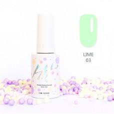 HIT gel Гель-лак №03 Lime, 9 мл