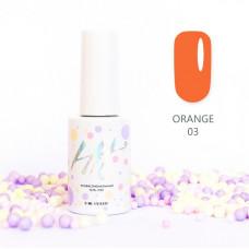HIT gel Гель-лак №03 Orange, 9 мл