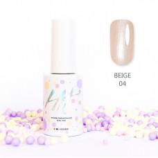 HIT gel Гель-лак №04 Beige, 9 мл