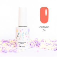 HIT gel Гель-лак №04 Orange, 9 мл
