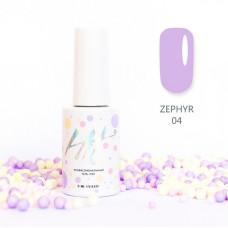 HIT gel Гель-лак №04 Zephir, 9 мл