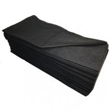 Полотенце 35*70 Спанлейс черный