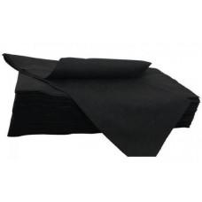 Полотенце 45*90 Спанлейс  черный